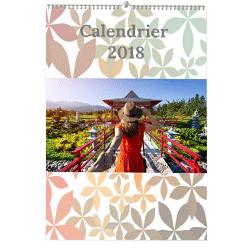 calendrier fleuri