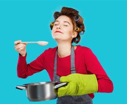 Album photo cuisine
