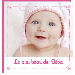 Album photo bébé bulles