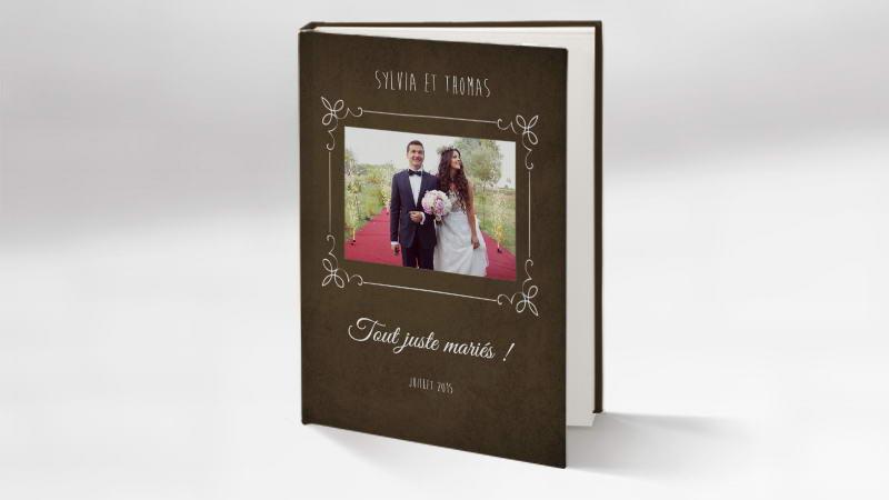 Souvent Exemple de livre romantique à créer pour un mariage d'exception CL13
