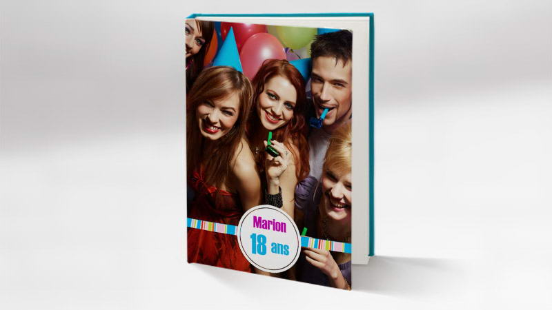Top Album photo anniversaire 18 ans et livre photo - FlexiLivre GX92