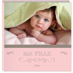 Album photo naissance fille