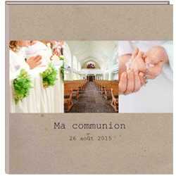 Album photo communion