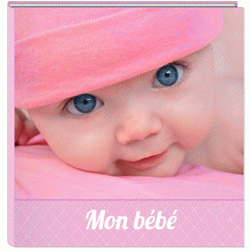 Album photo bébé fille